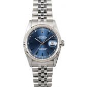 Best Quality Replica Rolex Datejust 16234 Blue Face JW1889