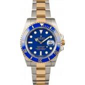 Certified Rolex Submariner 116613 Blue Dial JW0177