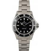 Certified Rolex Submariner 14060 No Date JW0179