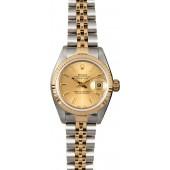 Datejust Rolex Ladies 79173 Champagne JW0265