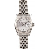 Fake Ladies Rolex DateJust Diamond Dial 179174 JW0323