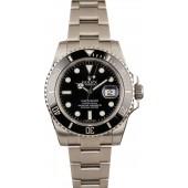 Fake Rolex Submariner Ceramic Model 116610, Black Dial JW2487