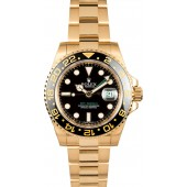 First-class Quality Rolex GMT Master II Yellow Gold 116718 JW2182
