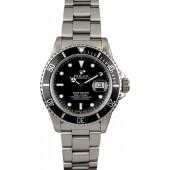 Imitation AAA Rolex Submariner 16800 Steel Oyster JW2464