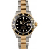 Imitation Men's Rolex Submariner 16803 Black Dial JW0745
