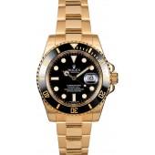 Men's Rolex Submariner 116618 Black Dial JW0739