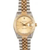 Mens Rolex Date 15053 x JW0682