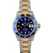 Replica Rolex Submariner 16613T Blue Dial Two Tone JW2456