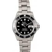 Rolex Submariner 16800 Steel Band JW2462