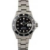 Rolex Submariner 16800 Steel Oyster Men's Watch JW2463