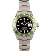 Rolex Submariner Green Anniversary 16610V JW2495