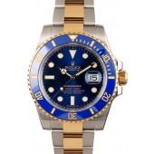 Submariner Rolex 116613LB Sunburst Blue JW2608