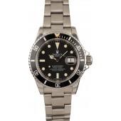 Vintage 1982 Rolex Submariner 16800 Matte Tritium Dial JW2862
